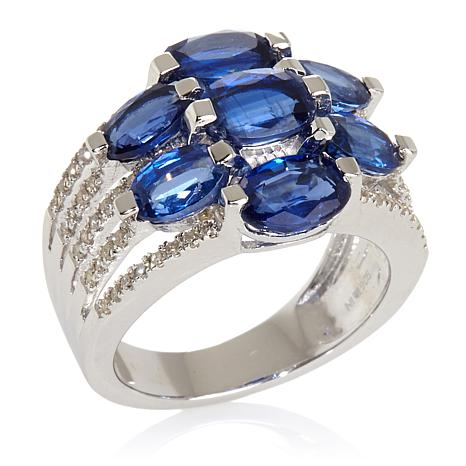 "Colleen Lopez ""Lush with Beauty"" 6.36ct Kyanite Ring"