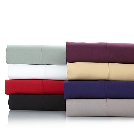 Concierge Collection Microfiber Matte Satin Sheet Set