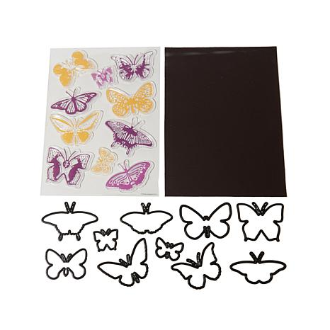 docrafts Butterfly Stamp and Die Craft Set
