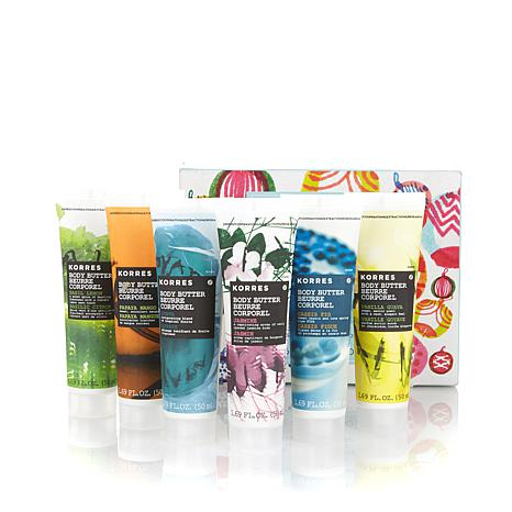 Korres Total Moisture 6-piece Body Butter Collection