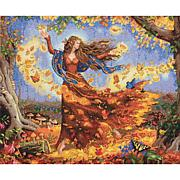 Dimensions Gold Counted Cross Stitch Kit - Fall Fairy