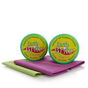 Earth Brite 2pk Cleaner w/Sponges & Cloths - Original