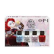 OPI Alice Nail Lacquer Minis 4-piece Set