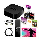 Apple TV® 4th Gen w/HDMI/Audio Cables & $10 iTunes Card