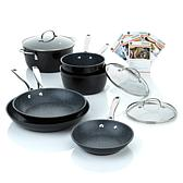 Curtis Stone DuraPan 9pc Forged Nonstick Cookware Set