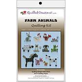Quilled Creations Quilling Kits - Farm Animals