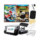 Wii U Mario Kart 8 Game System, 2 Games & Accessory Kit