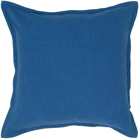 Blue Throw Pillow 20x20 : 20