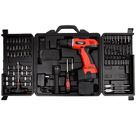... Home Improvement Tools Power Tools 78-piece 18-Volt Cordless Drill Set