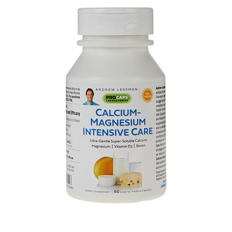 Andrew's Calcium-Magnesium Intensive Care-1000 Caps