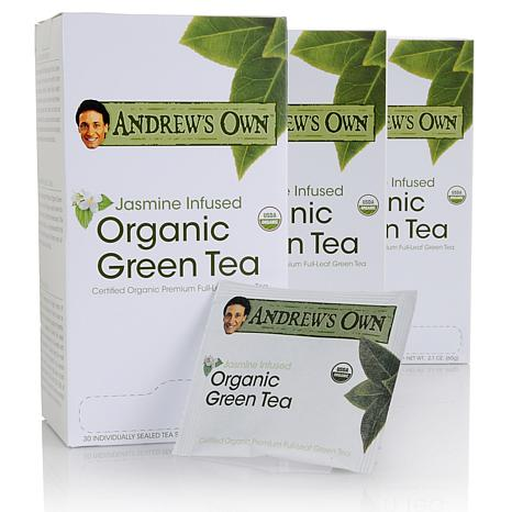Andrew's Own Jasmine Infused Organic Green Tea 90 pack