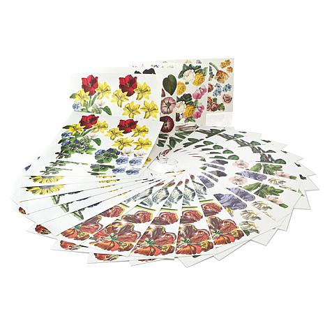 Anna Griffin Bouquet 72pk Floral Die-Cuts