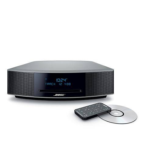 bose wave music system iv with cd dual alarm and touch control 7889615 hsn. Black Bedroom Furniture Sets. Home Design Ideas