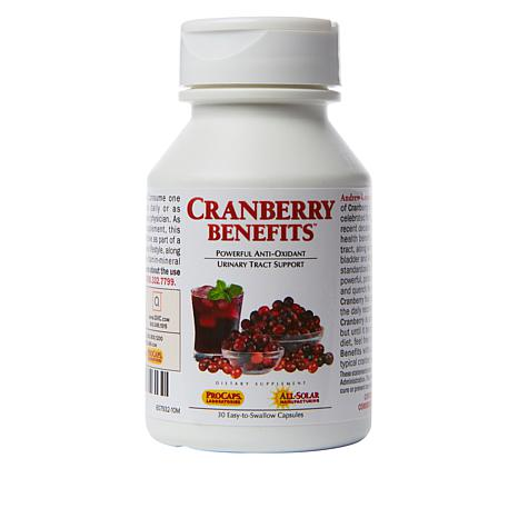 Cranberry Benefits - 30 Capsules - 7818199 | HSN