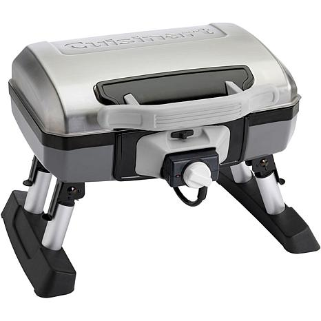 Cuisinart Portable Outdoor Electric Grill With Telescoping
