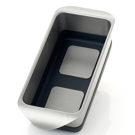 Curtis Stone Pop-Out Steel and Silicone Loaf Baking Pan