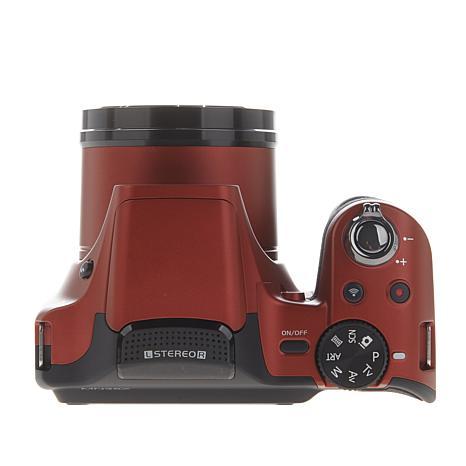 minolta 20mp 35x optical zoom slr style camera with 8gb