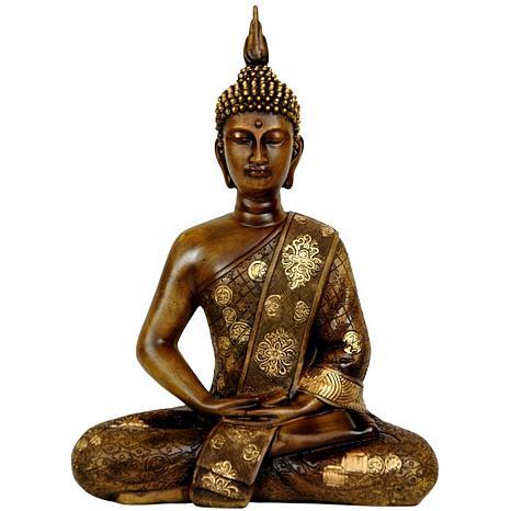 Oriental furniture 11 thai sitting buddha statue - Bouddha statue deco ...