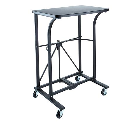 Origami Folding Steel Trolley Table 8100133 Hsn