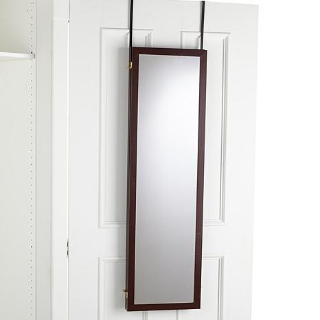 Over the door three way mirror 7978708 hsn - Mirror opposite front door ...