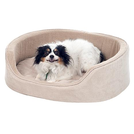 Paw Cuddle Round Suede Terry Pet