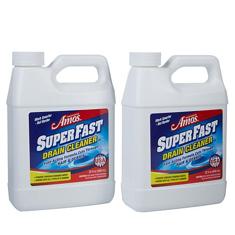 Professor Amos 32 fl. oz. SuperFast Drain Cleaner 2pk