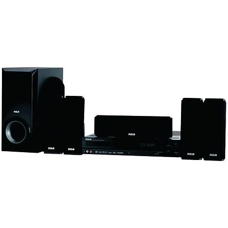 RCA Home Theater System w/1080p Upconverting DVD Player