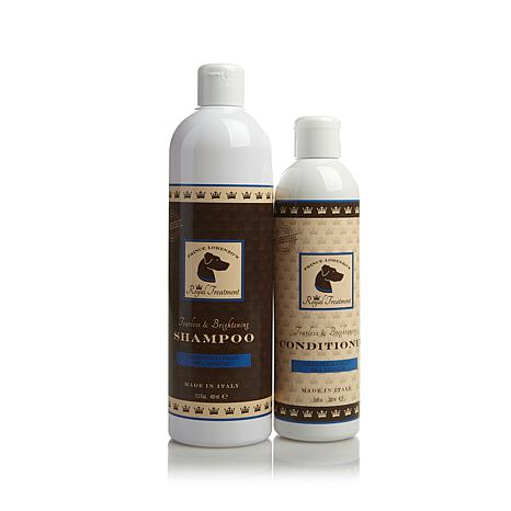 royal treatment shampoo and conditioner duo for dogs