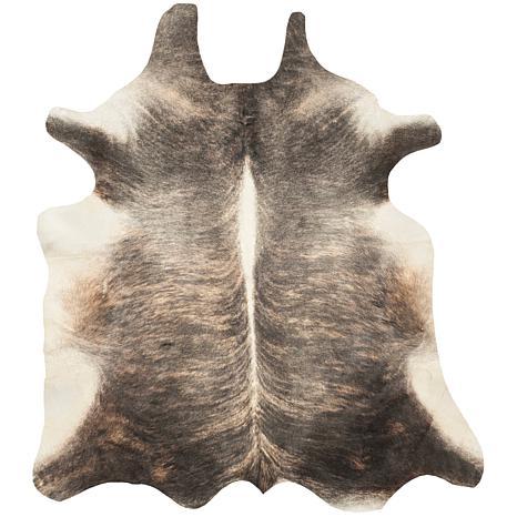 Safavieh Cowhide Leather Rug 4 39 6 X 6 39 6 Hsn