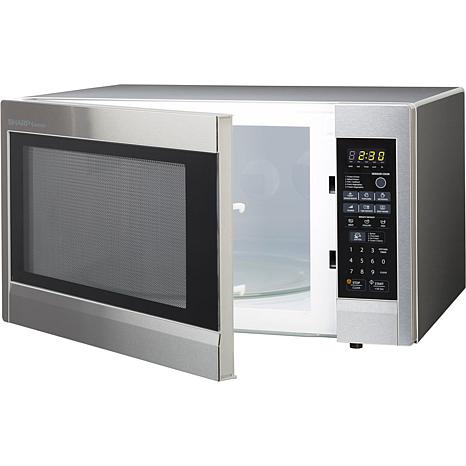 ... Carousel 2.2 Cu. Ft. 1200W Countertop Microwave Oven - Stainless Steel