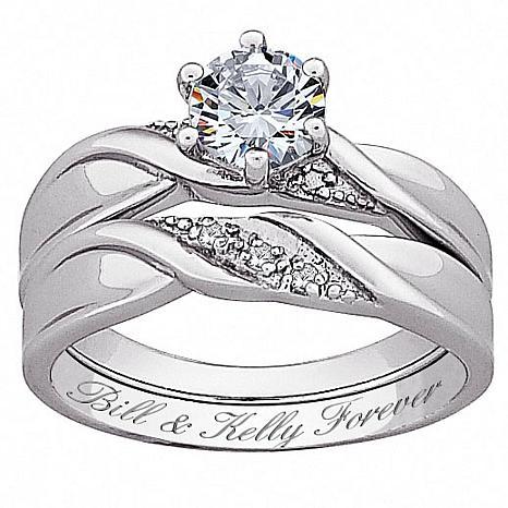 sterling wedding rings