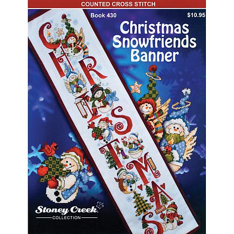 Books - Christmas Snowfriends Banner - 6599161 | HSN