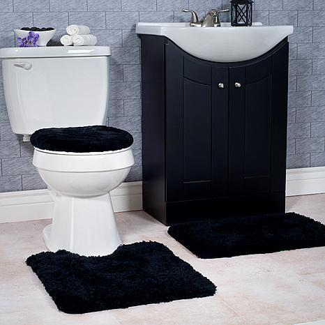 New Black Bath Rugs Amp Bath Mats  Overstock Shopping  The Best Prices
