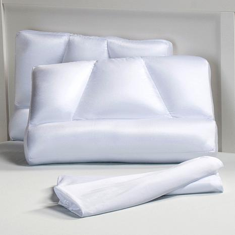 Tony Little DeStress® Micropedic Pillows 2pk - Standard
