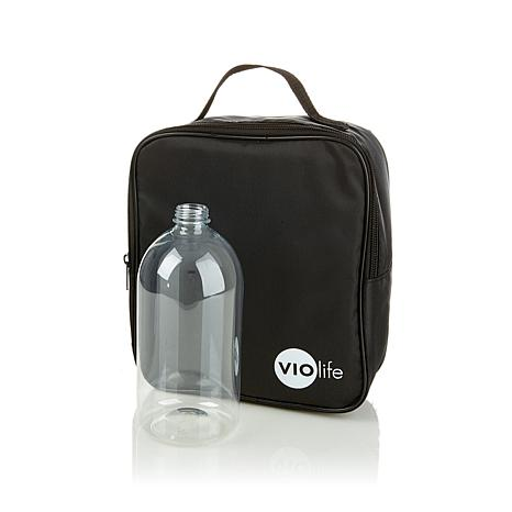 VIOlife Personal Humidifier Travel Case w/Water Bottle
