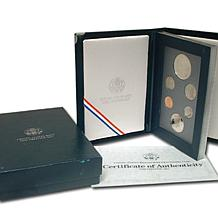 1990 Prestige Proof Set