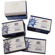 1999-2009 State Quarter Proof Sets