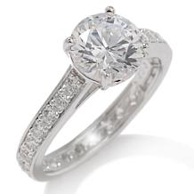 "2ct Absolute™ Round ""Solitaire"" Eternity Ring"