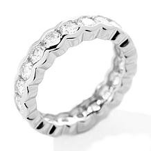 Absolute™ Round Semi-Bezel Eternity Band Ring