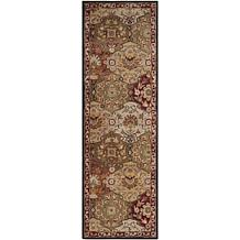 "Andrea Stark Home Collection Caesar Red Rug - 2'6"" x 8'"