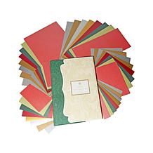 Anna Griffin® Holiday Metallic Cardstock Kit