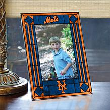 Art Glass Team Photo Frame - New York Mets - MLB