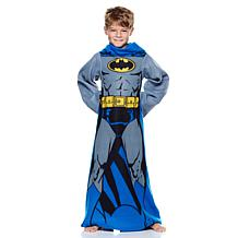 Batman Licensed Youth Comfy Throw with Sleeves