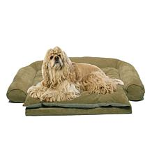 Carolina Pet Company Small Sleeper Comfort Couch with R