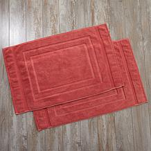 Concierge Collection Set of 2 Turkish Bath Mats