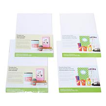 Cricut 44-piece Printable Sticker and Vinyl Sheet Set