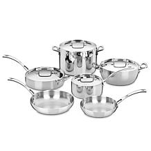 Cuisinart Classic 10pc Stainless French Cookware Set