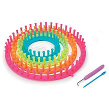 Darice Easy Knitting Round Loom Set - Neon Colors