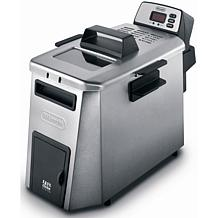 De'Longhi Dual Zone Digital Deep Fryer - Stainless