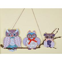 docrafts Papermania Owl Folk Cardmaking Kit